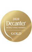 Decanter 2020 gold