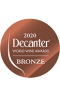 Decanter 2020 bronze